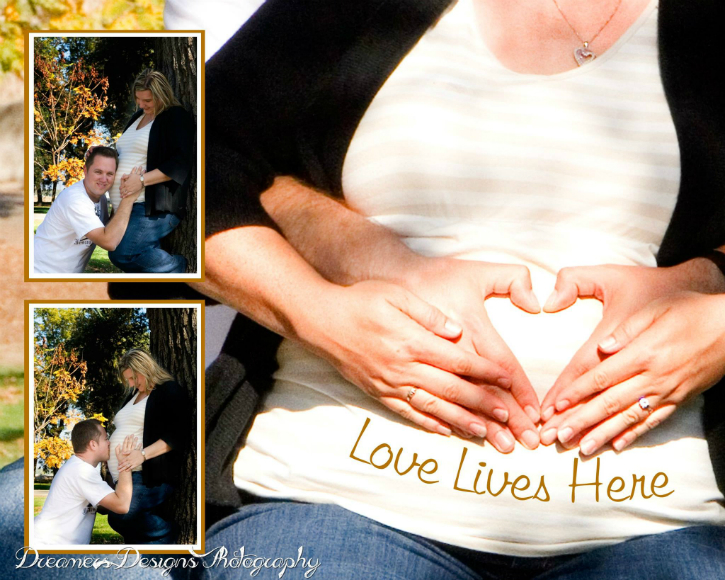 Pregnancy Session Collage